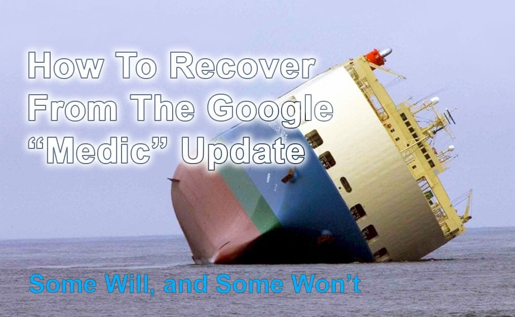 How To Recover From The Google Medic Update - Honolulu
