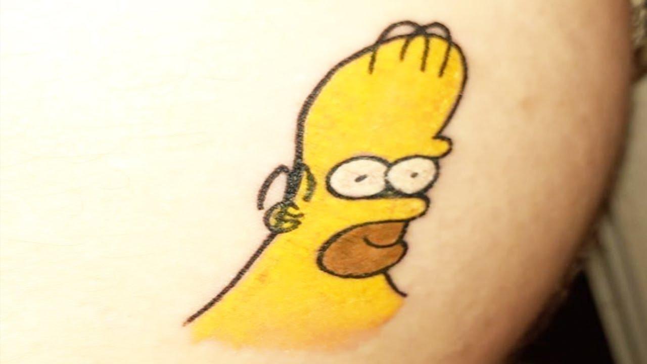 Simpsons Fan Has 52 Tattoos Of Homer Simpson Wfmj Com